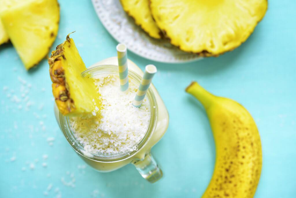 Recette Le virgin banana colada